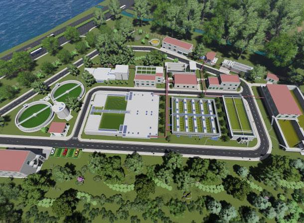 龙口市海岱污水ballbet苹果下载厂工程PPP设备总包项目