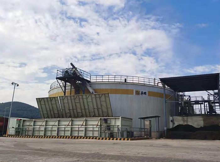 广西隆安超润2MW混合原料沼气发电项目
