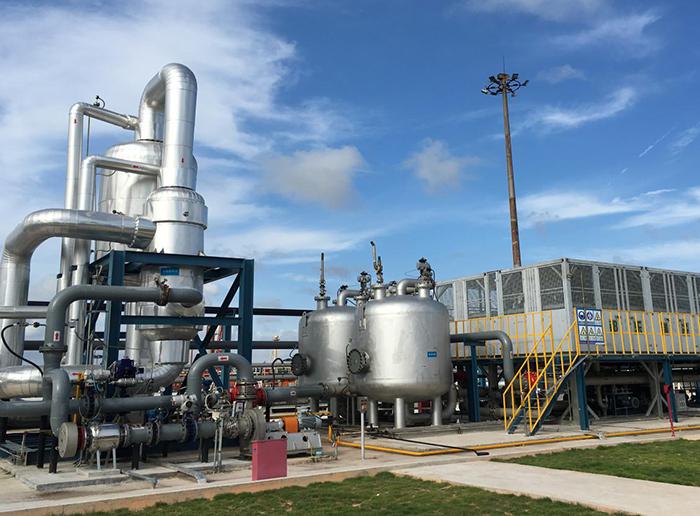 中国石化集团茂名石化分公司码头油气回收设备项目