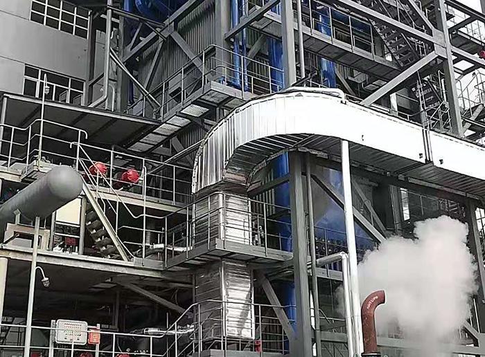 唐山鼎祥锰业矿热炉煤气发电项目