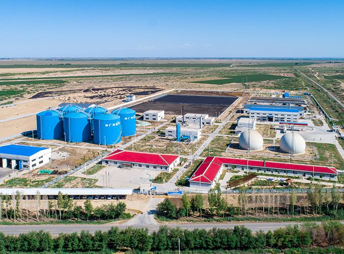 中广核呼图壁种牛场2.2万方生物天然气项目