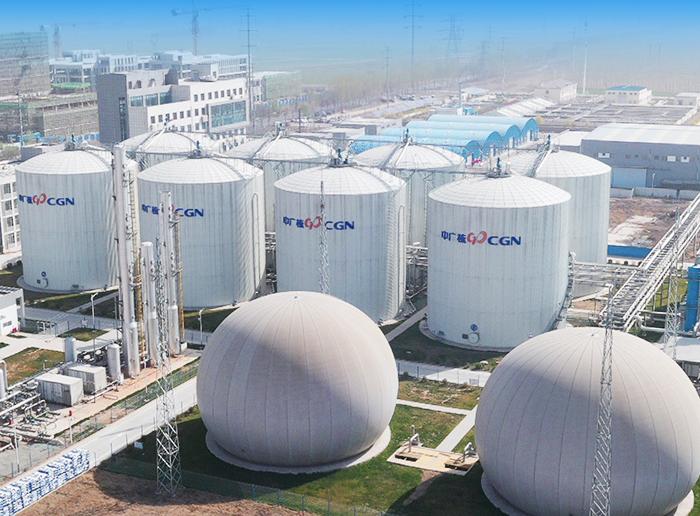 中广核衡水混合原料10万方生物天然气项目
