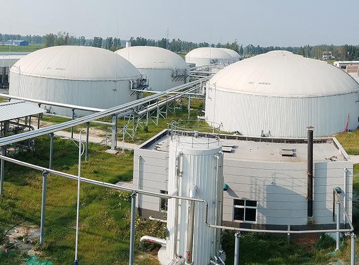 徐州国新规模化大型沼气项目