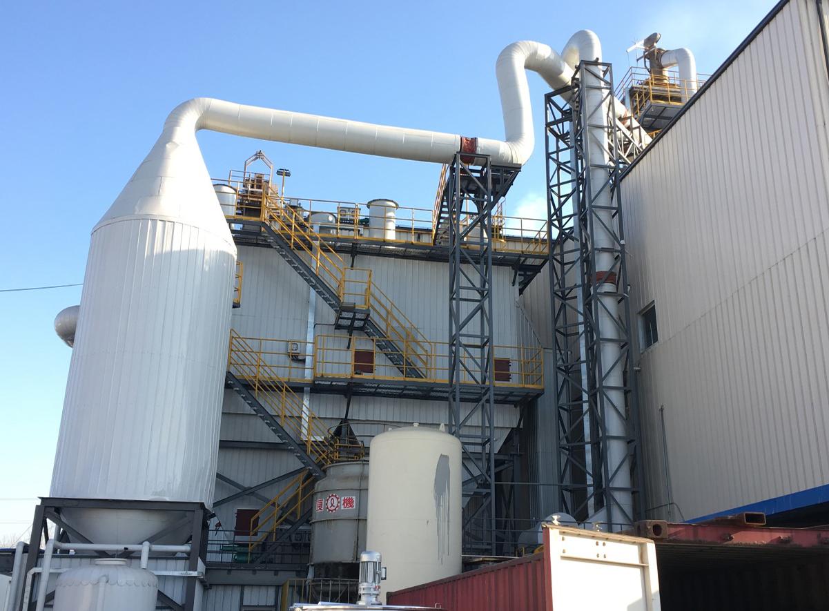 天津欧文斯窑炉除尘系统项目
