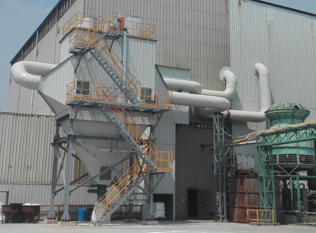 上海欧文斯窑炉烟气处理项目